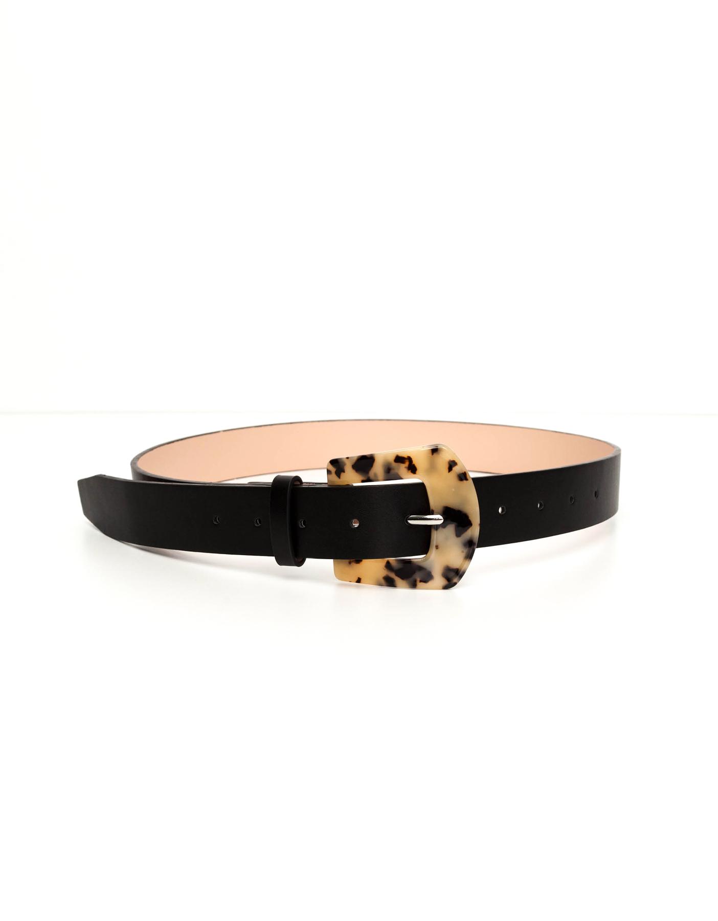 Tortoise Buckle Belt
