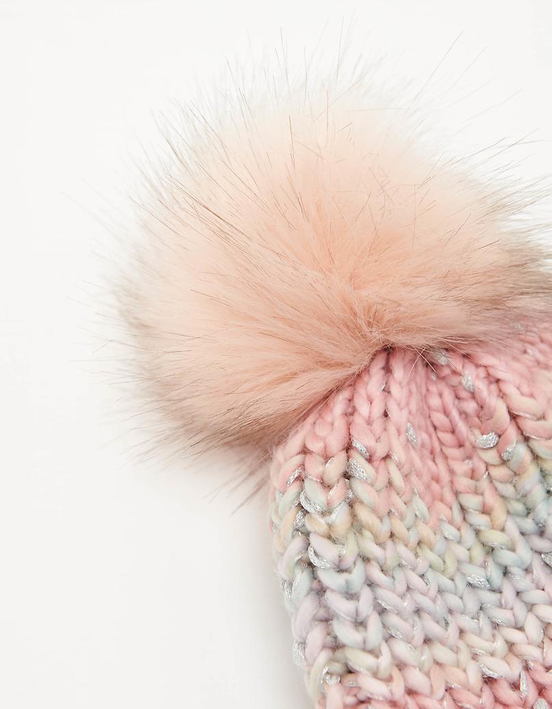 Chunky Mix Knit Beanie