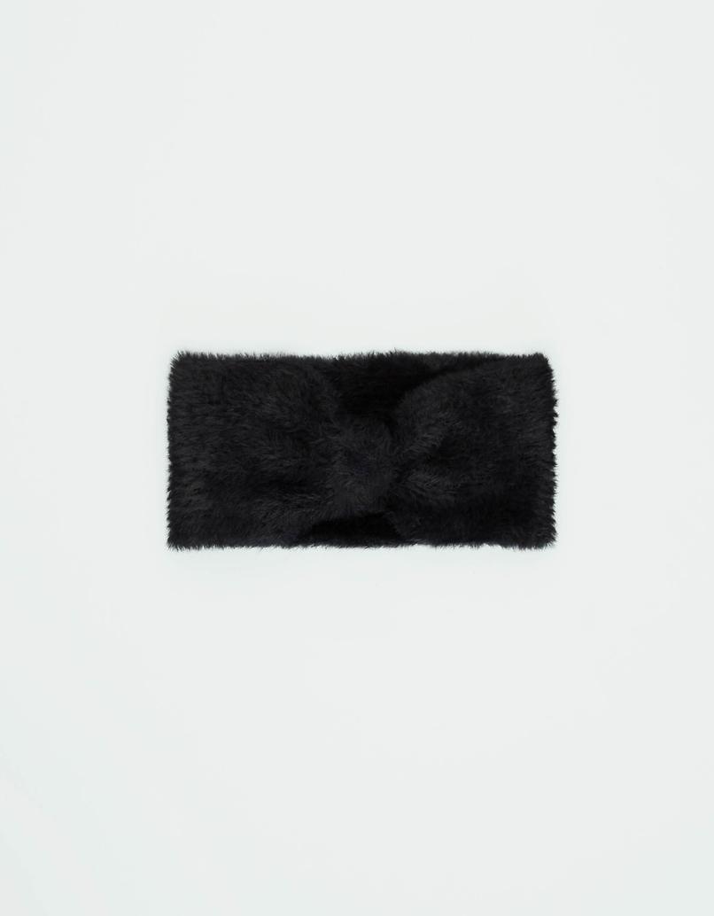 Faux Fur Knot Headband