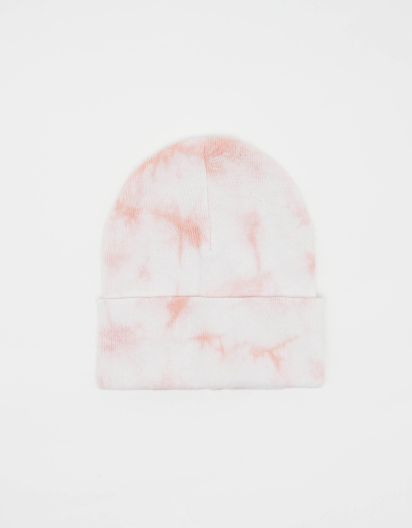Pink Tie & Dye Beanie