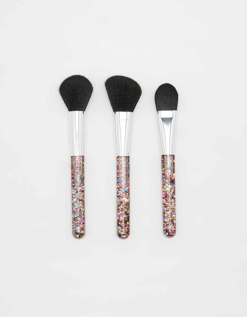 Glittered Brush Set