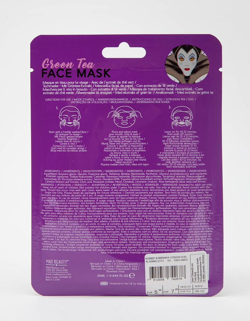 Mad Beauty Disney Maleficent Sheet Face Mask