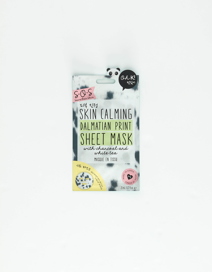 Maschera in Tessuto  Oh K!  Lenitiva Stampa Dalmata