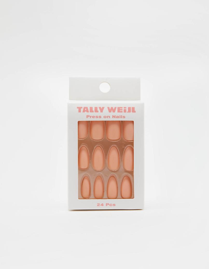Pink Press-on Nails