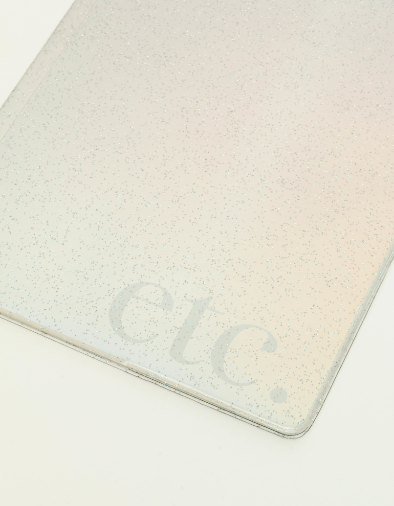 Hologram Glitter Notebook