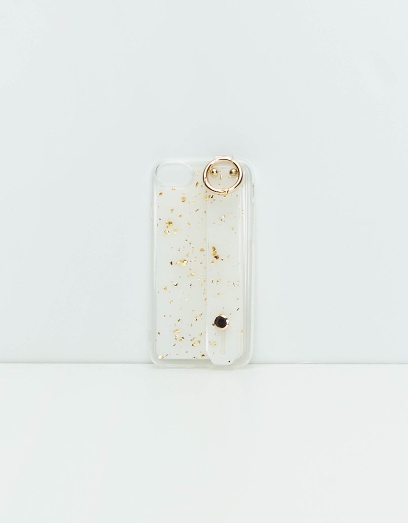 iPhone  Case with Hand Band Stand