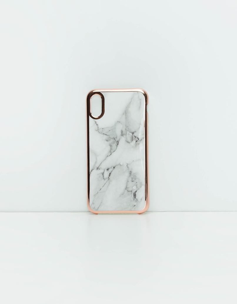 Marble Print Iphone X Case
