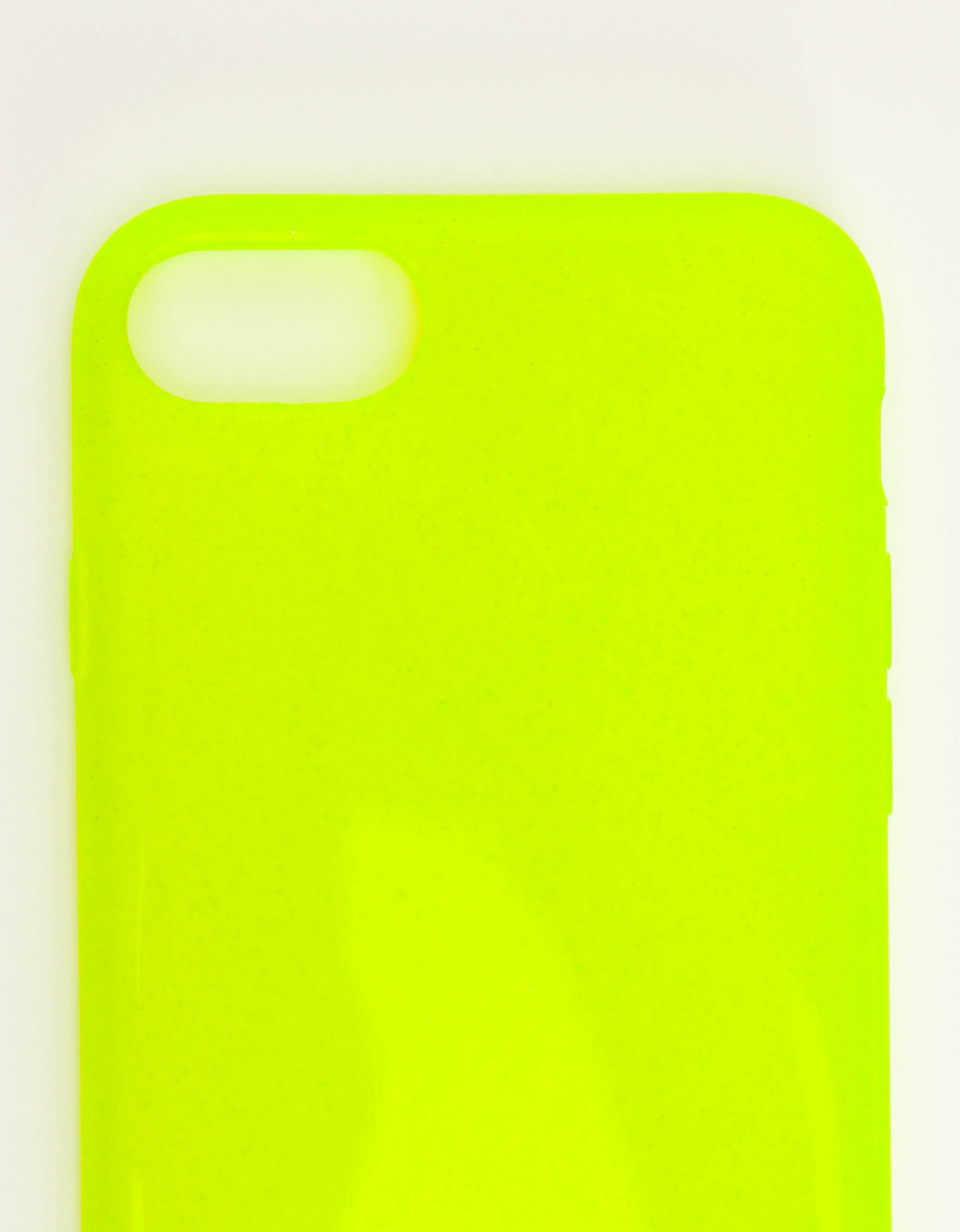 Cover Iphone Giallo Neon