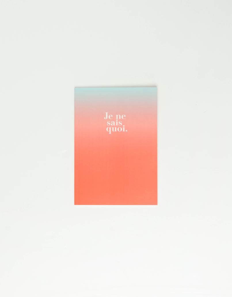 """""""Je ne sais quoi"""" Notebook"""