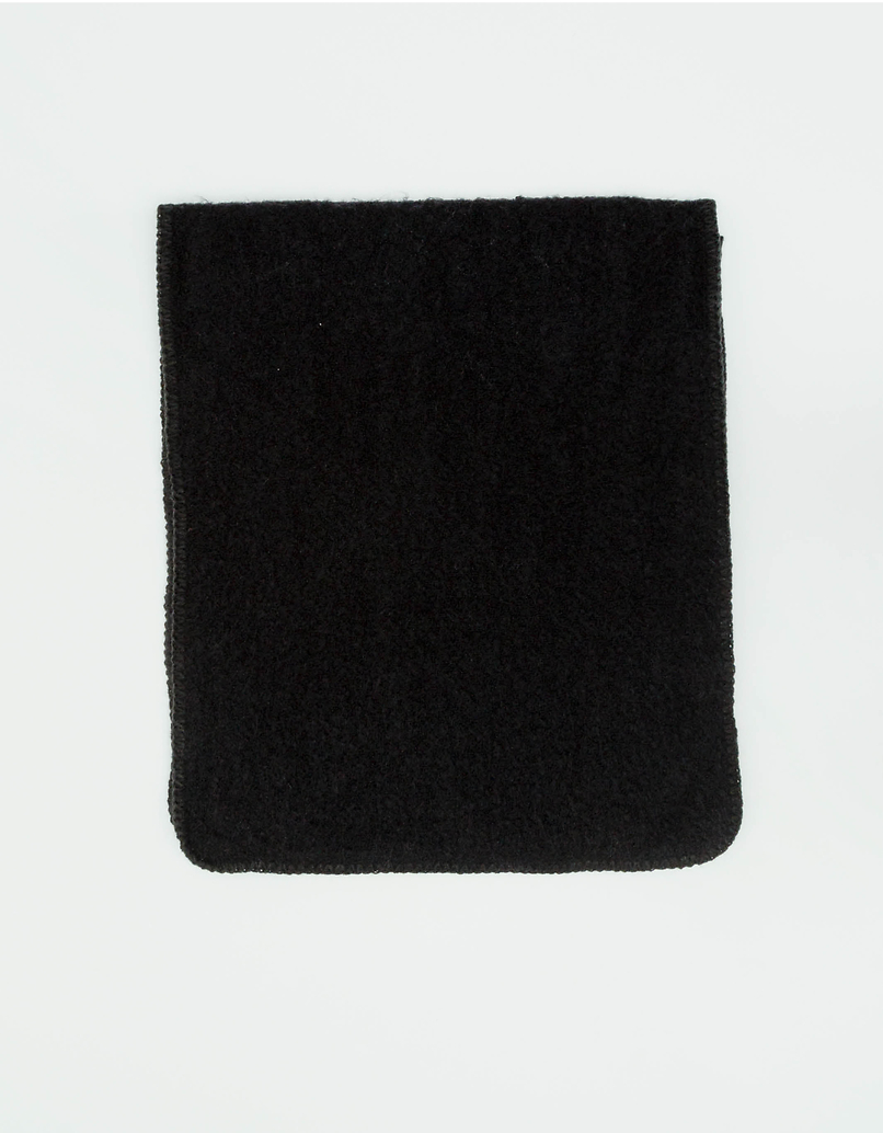 Czarny szalik