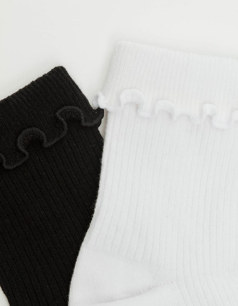 2 pack Calf length Socks