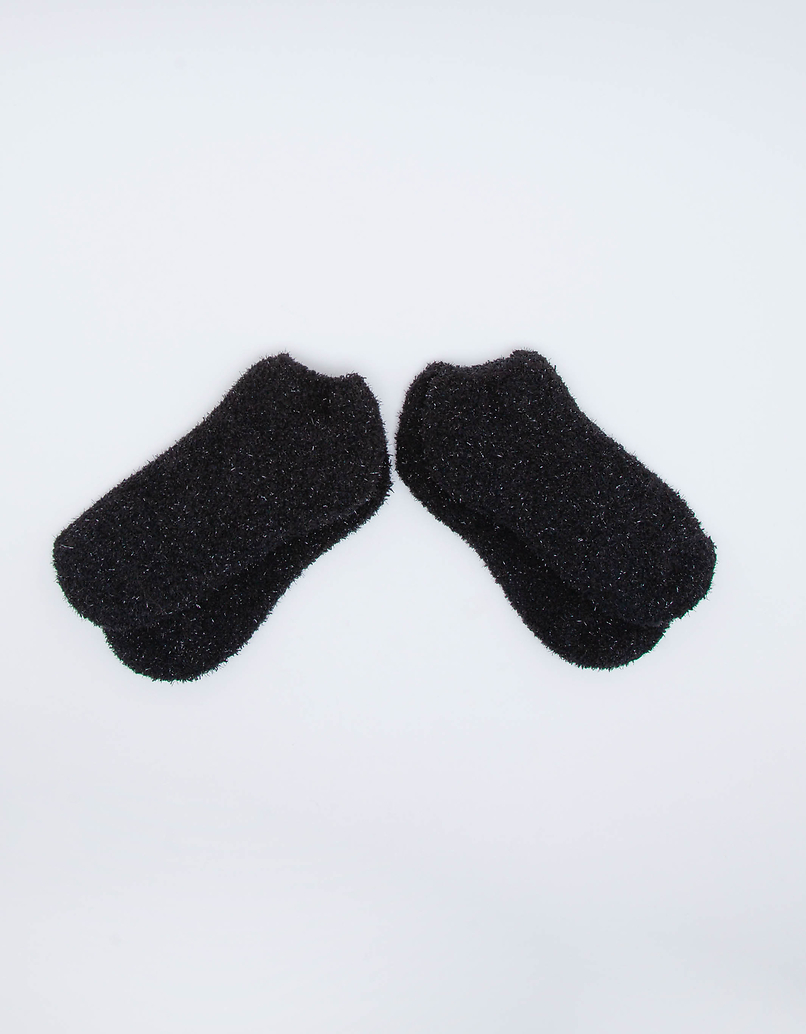 2 Pack Soft Lurex Socks