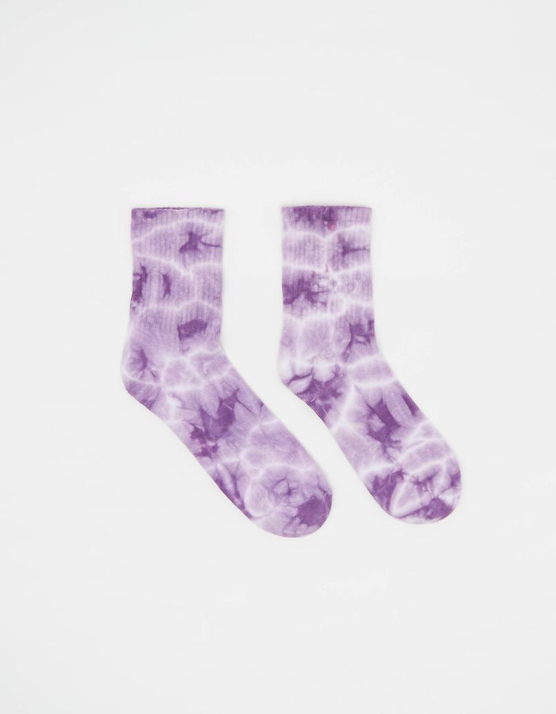 Violette Tie & Dye Socken