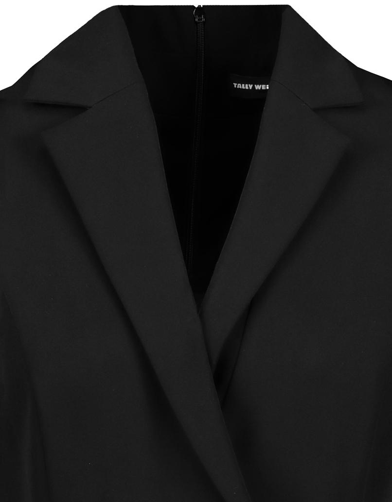Black Belted Playsuit