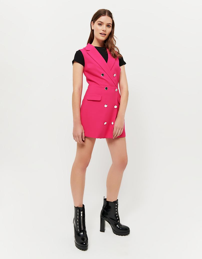 Purple Dressy Playsuit