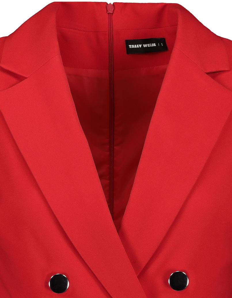 Red Dressy Playsuit