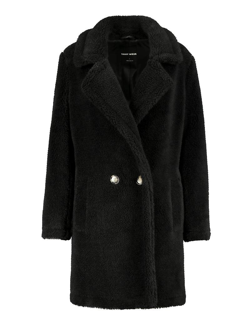 Black Teddy Coat