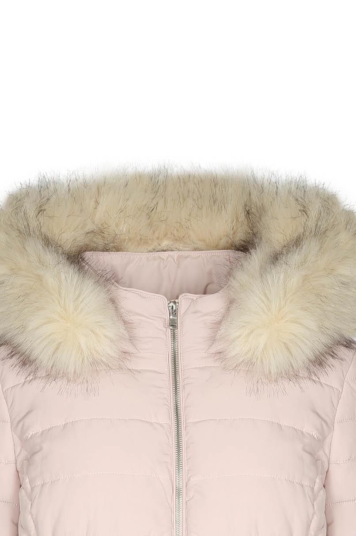 Pink Long Puffer Jacket