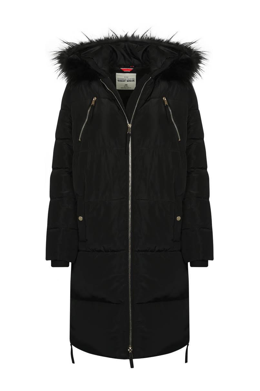 Black Long Puffer Jacket