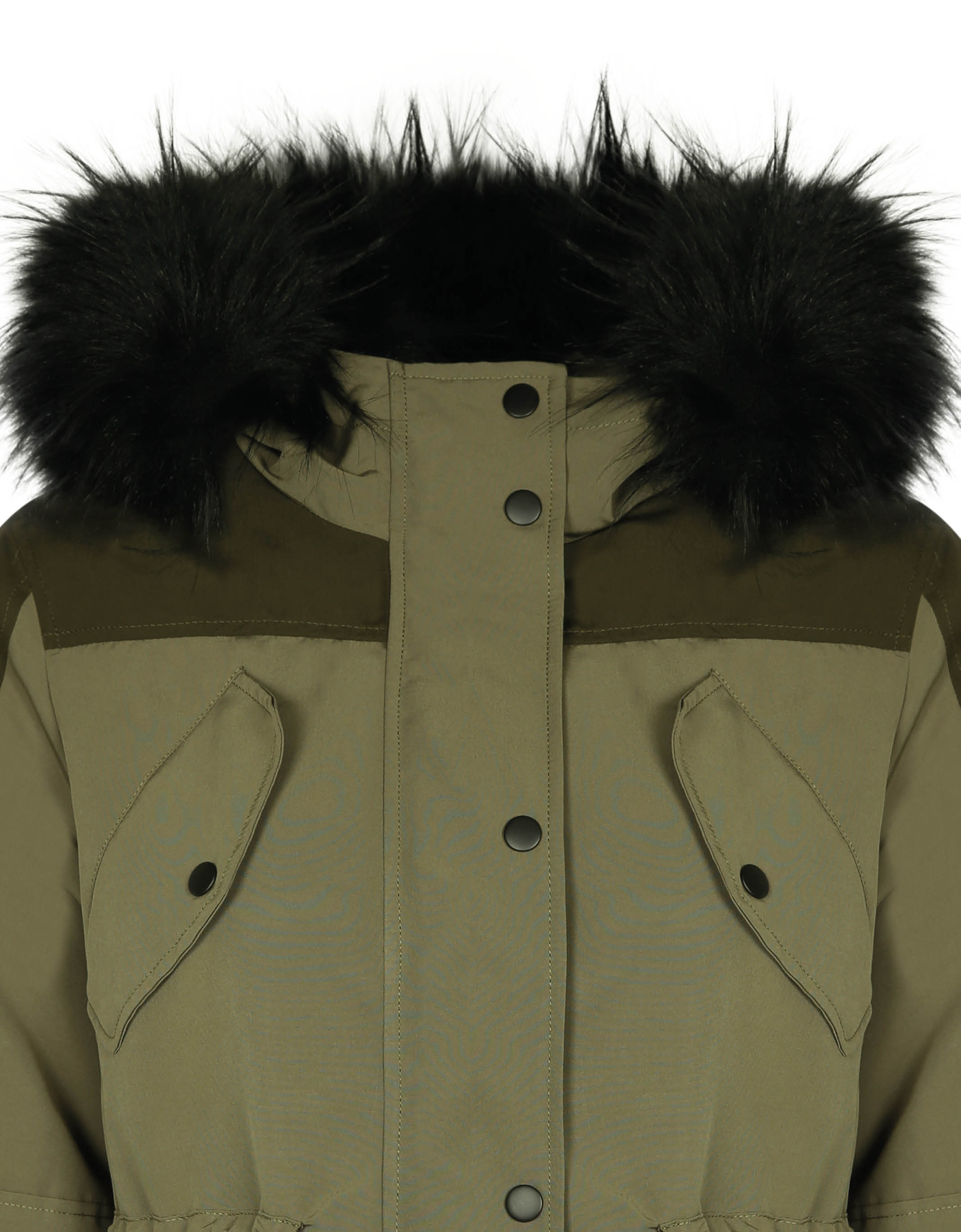 Khaki Parka with Hood