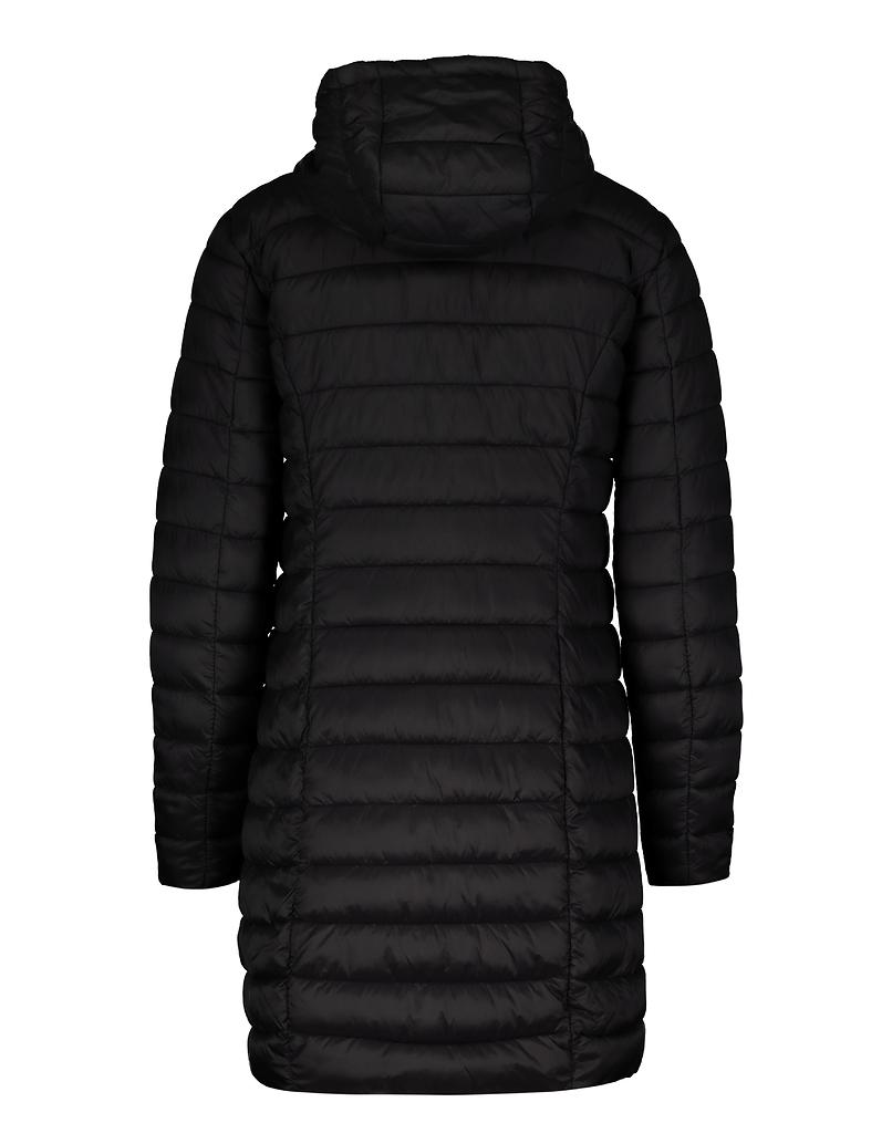 Black Long Puffer Coat