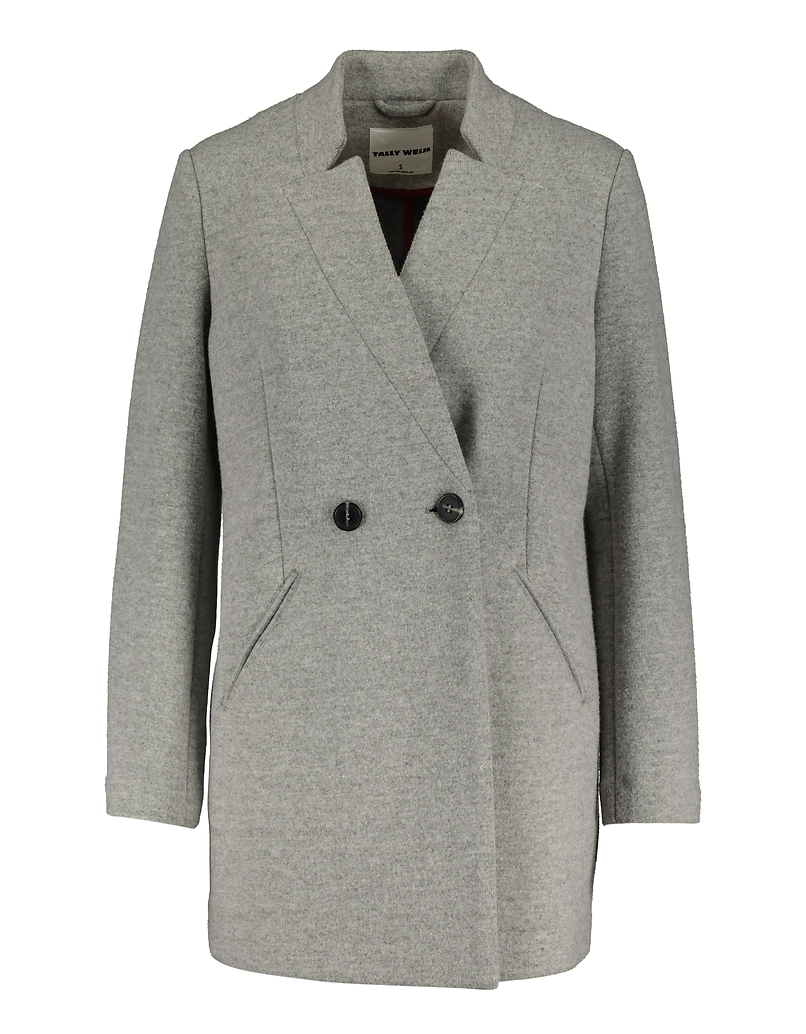 Straight Fit Double Breasted Coat