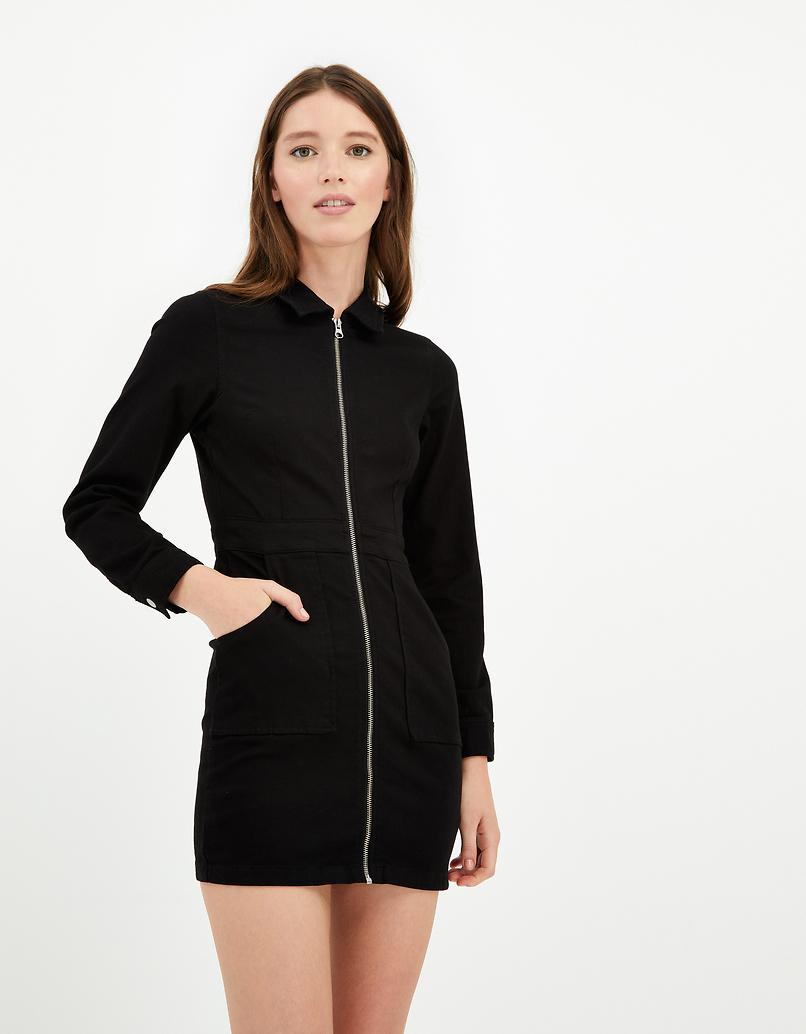 Black Bodycon Long Sleeve Dress