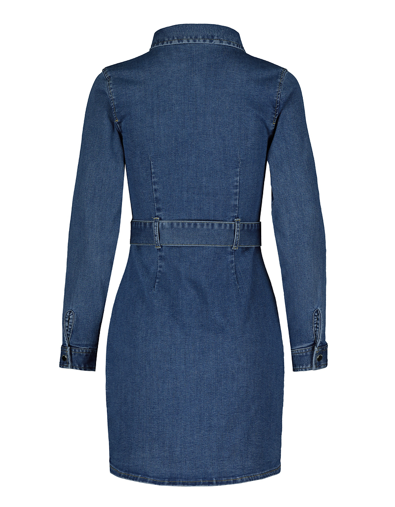 Denim Long Sleeves Bodycon Dress