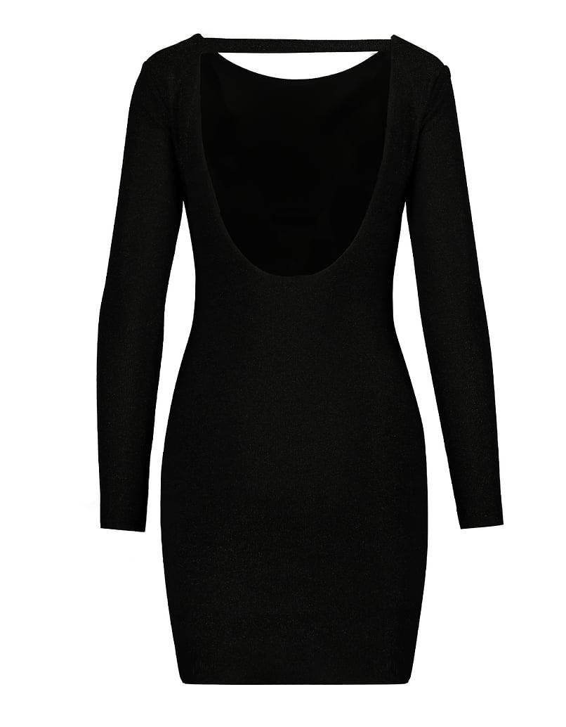 Robe Noire en Lurex