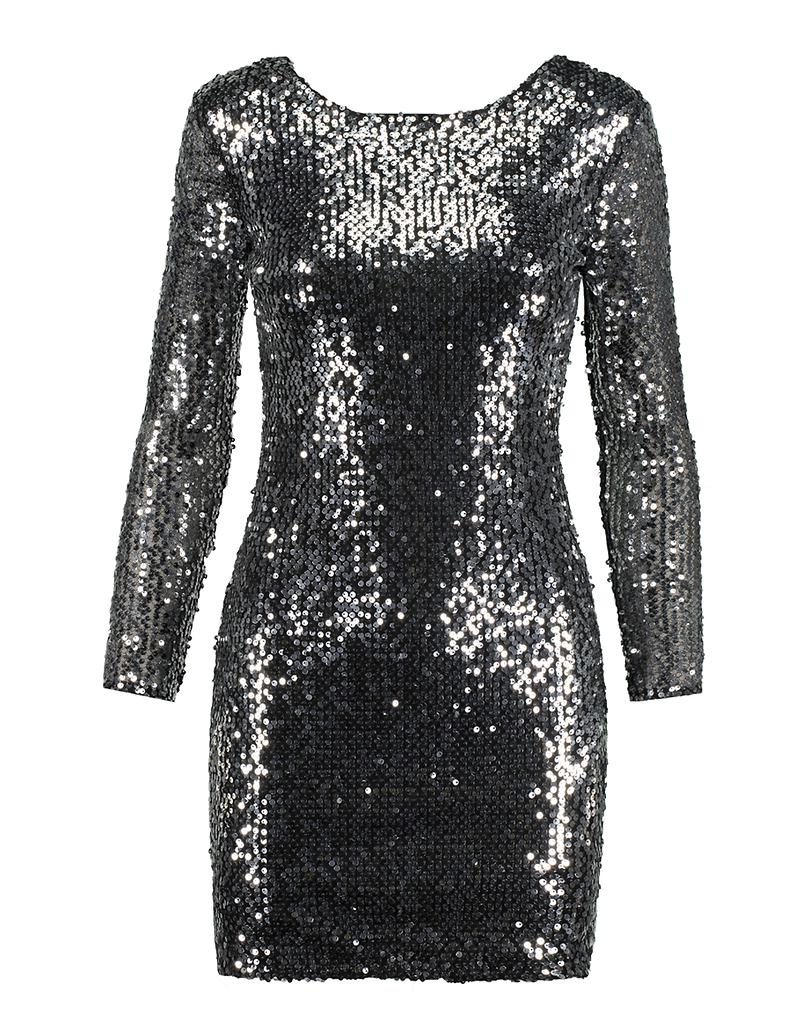 Kleid aus Lurex
