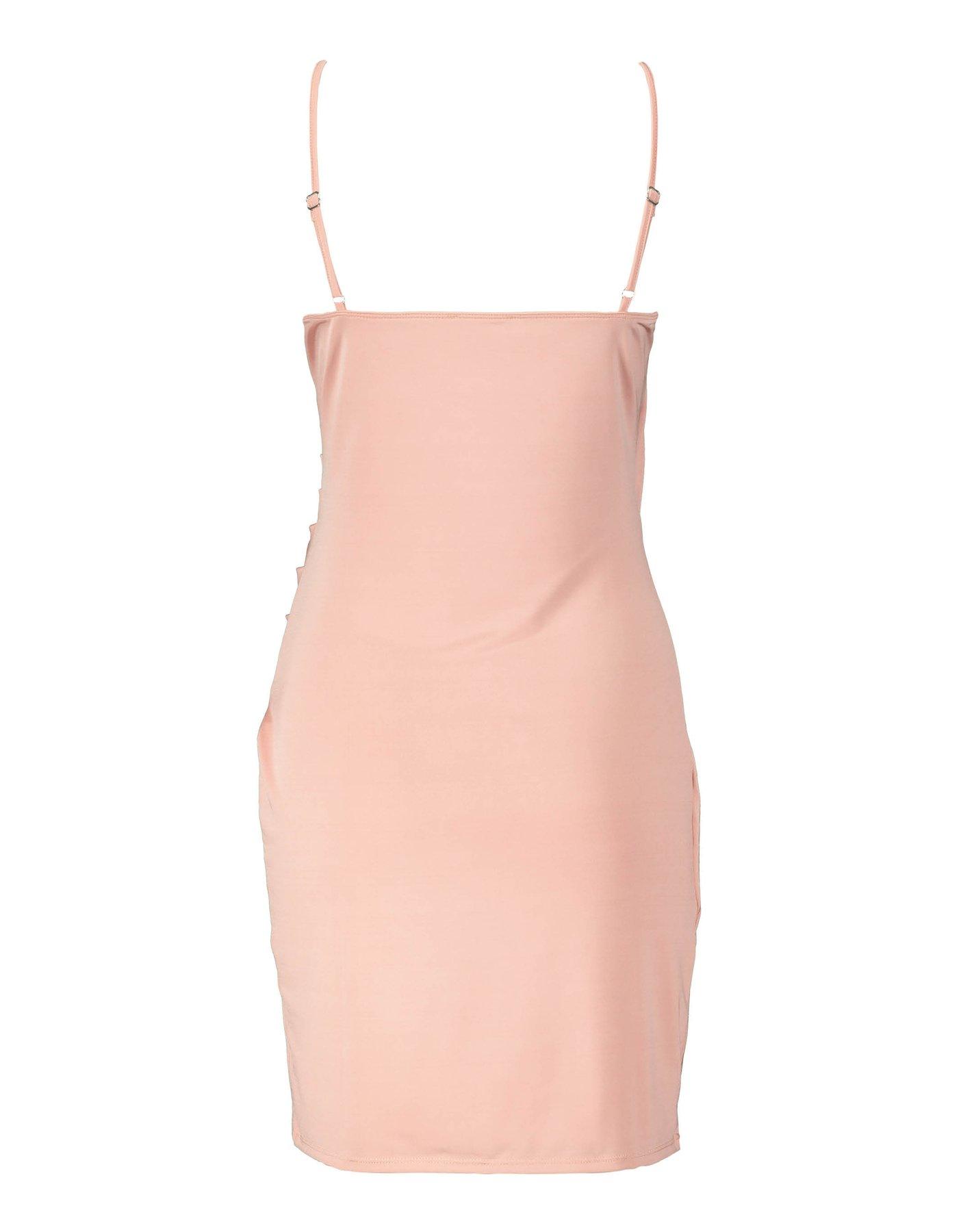 Pink Satiny Dress