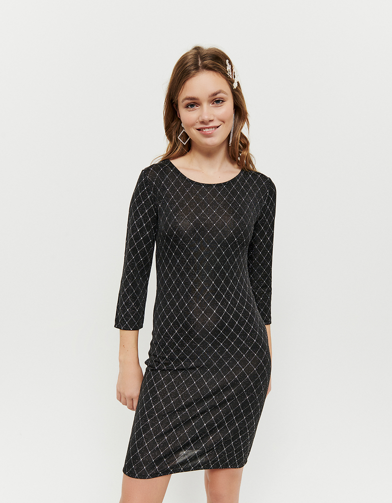 Vestito Nero in Lurex