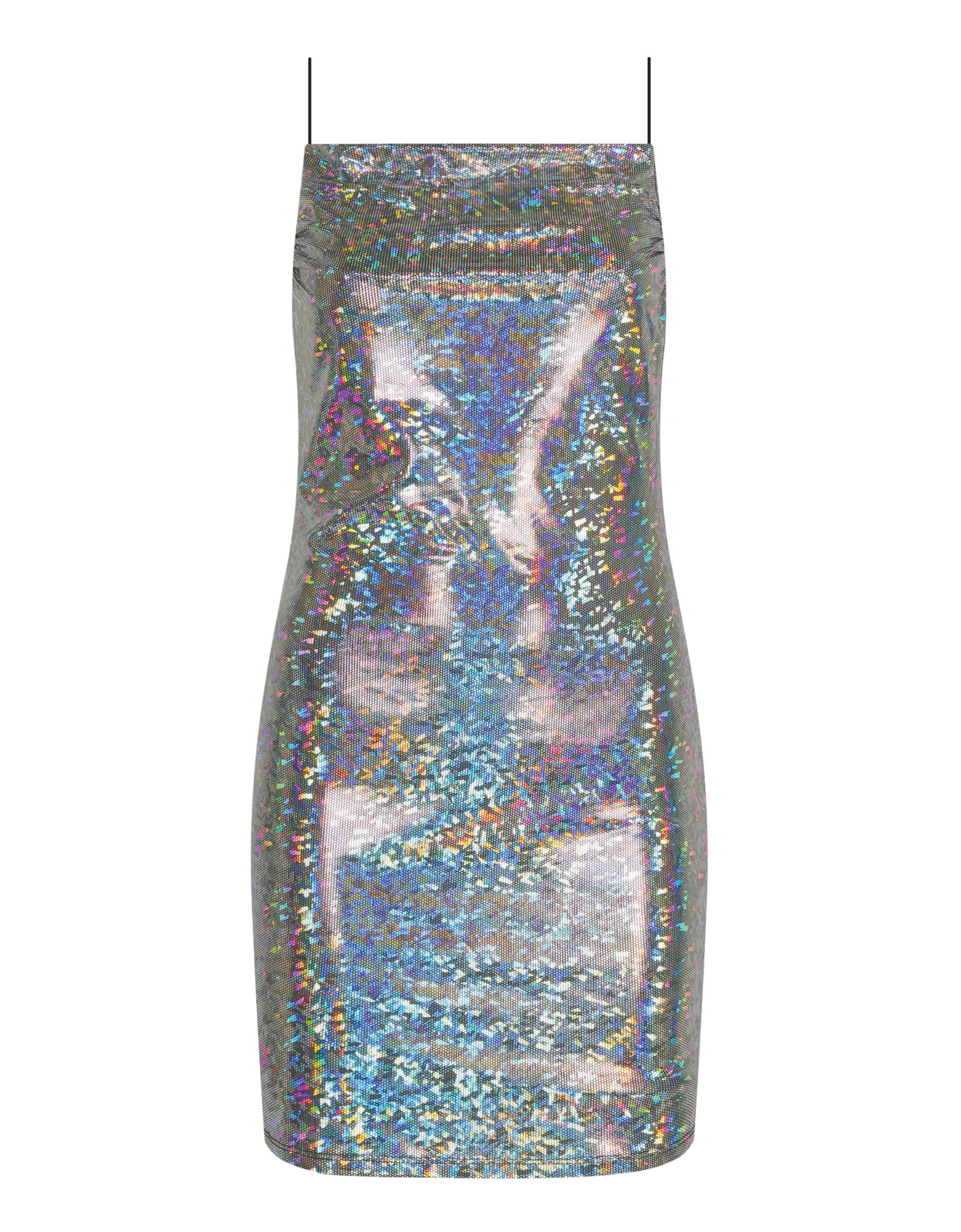 Holographic Glitter Dress