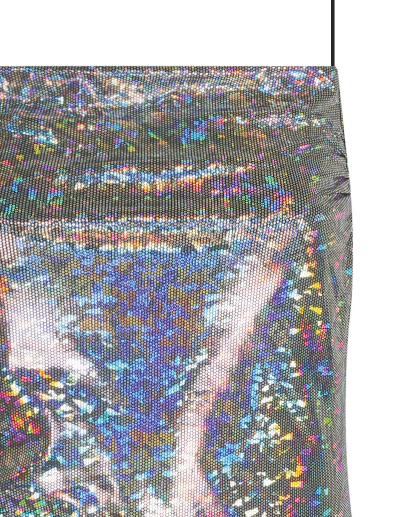 Robe Holographique Scintillante