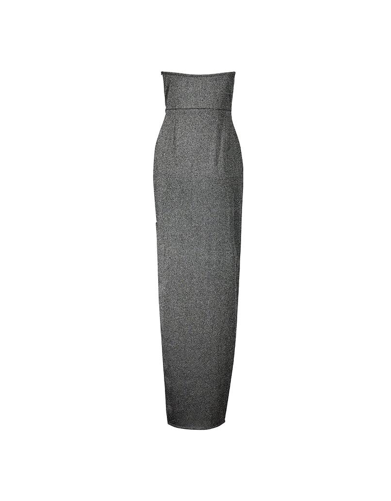 Maxi Dress aus Lurex