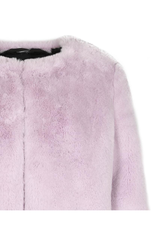 Lilac Fluffy Jacket