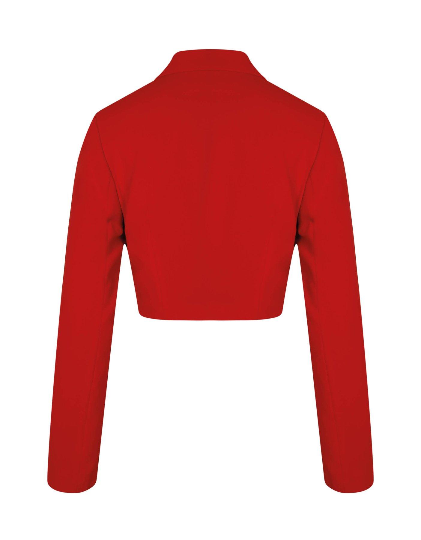Red Very Cropped Blazer
