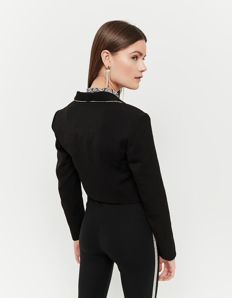 Kurzer Tuxedo-Blazer