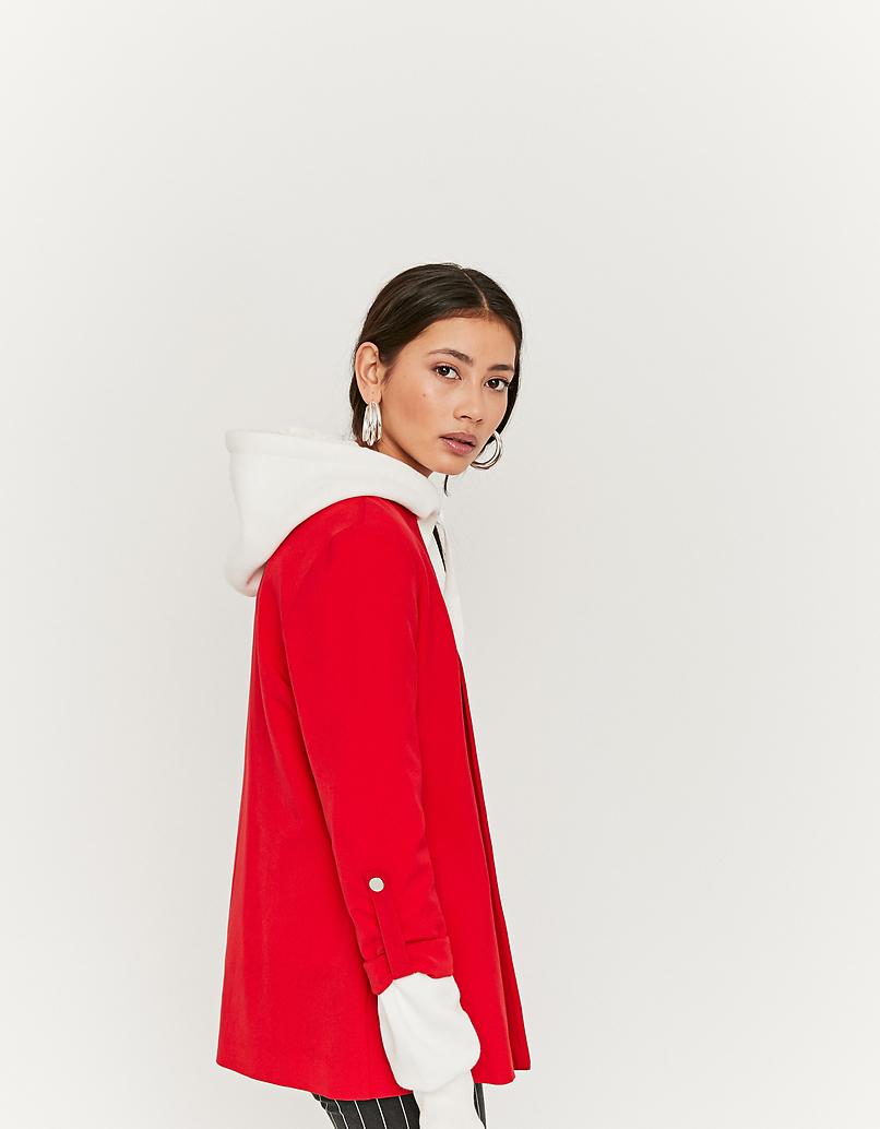 Blazer Rosso Aperto