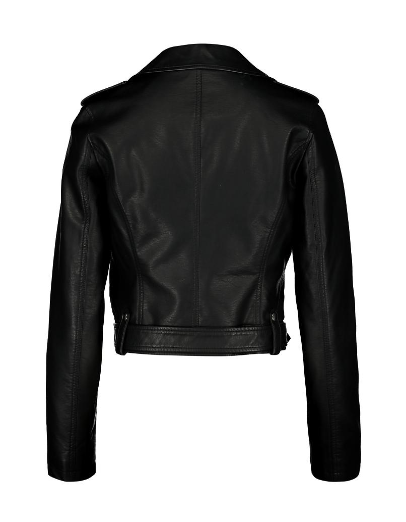 Black Belted Biker Jacket