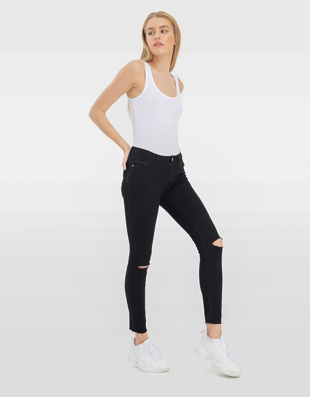Low Waist Skinny Trousers
