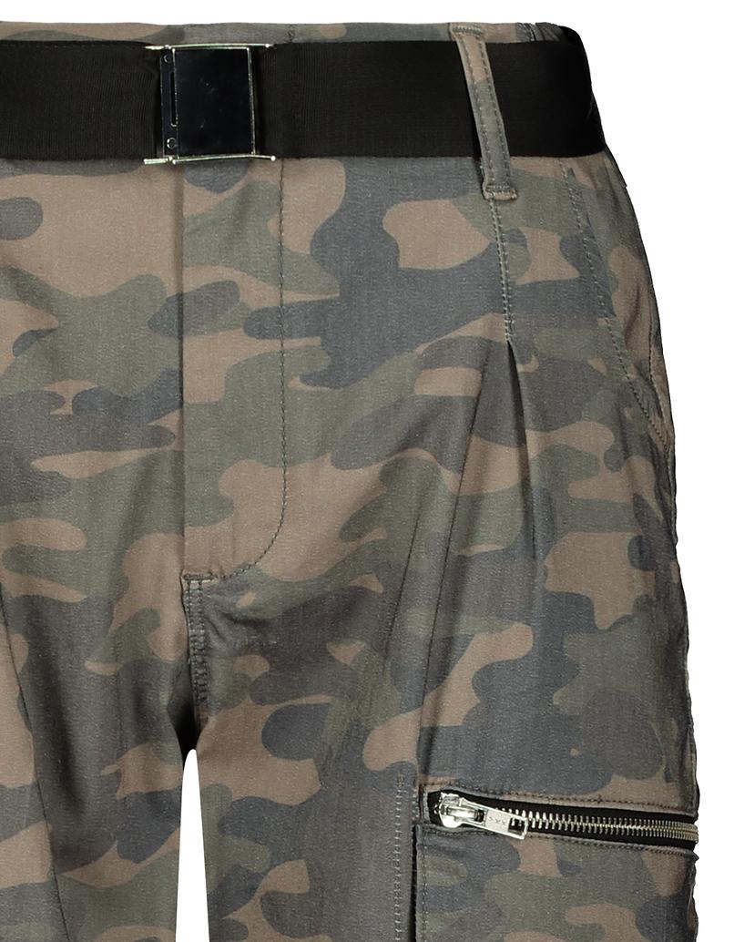 Moro spodnie Cargo z paskiem