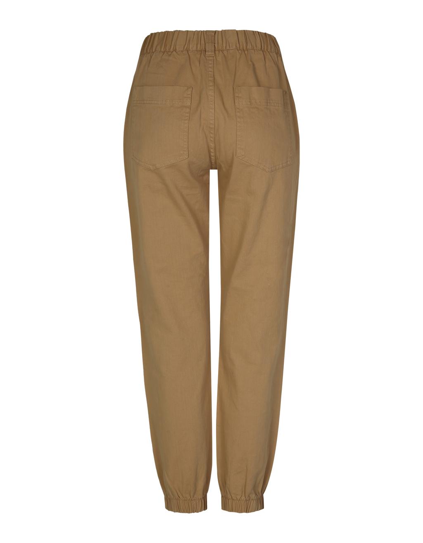 Beige Cargo Trousers
