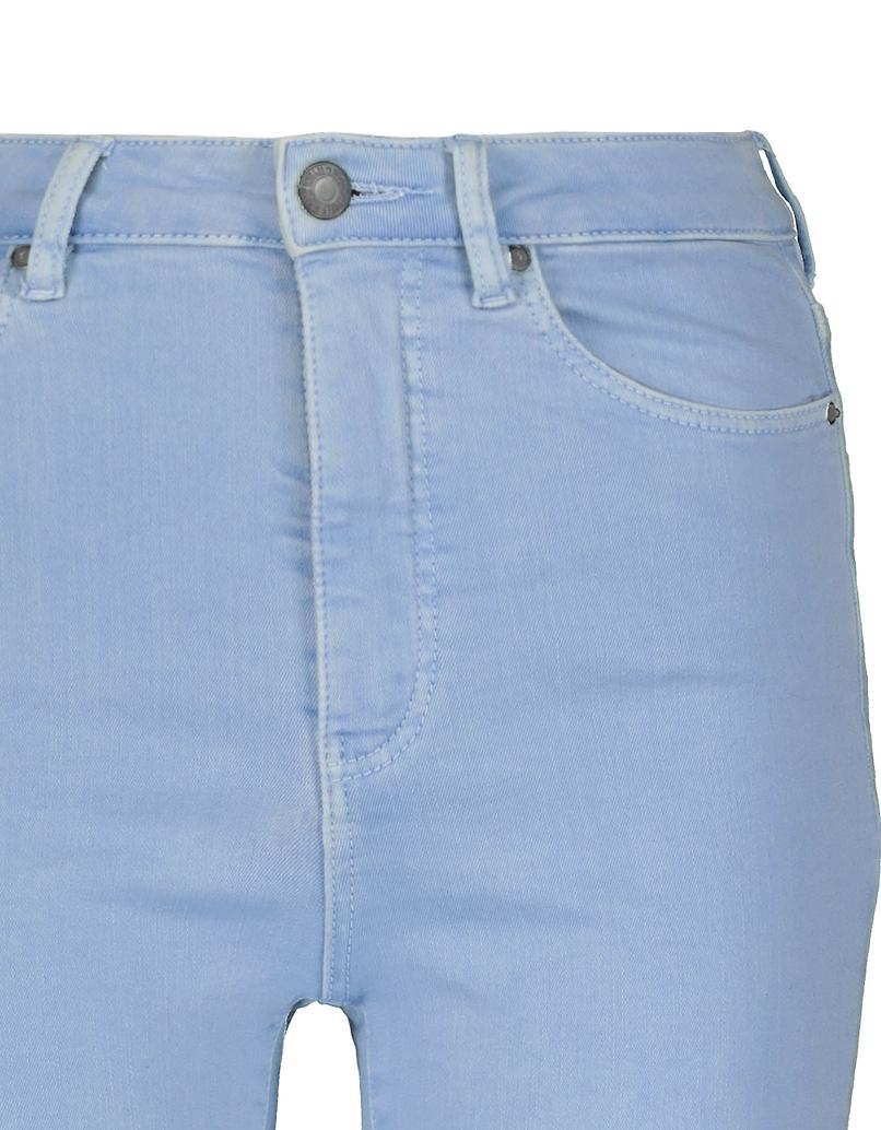 Pantalon Skinny Taille Haute Bleu Clair