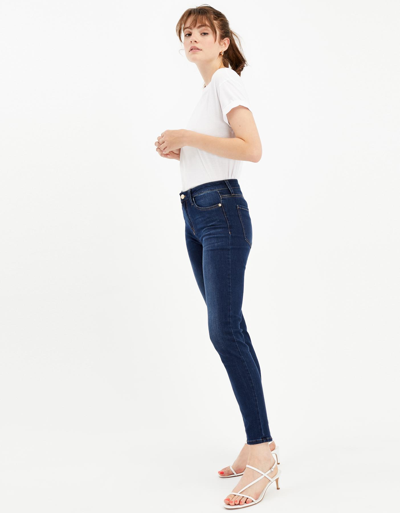 New Mid Waist Skinny Jeans