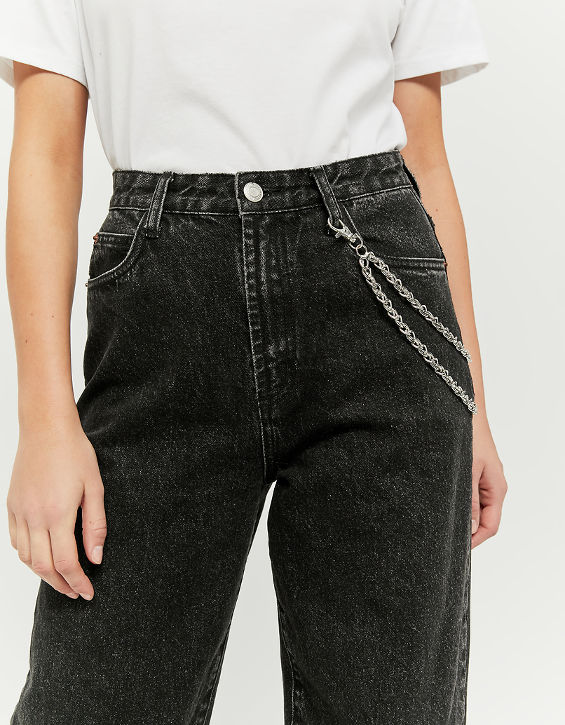 High Waist Slouchy Fit Jeans