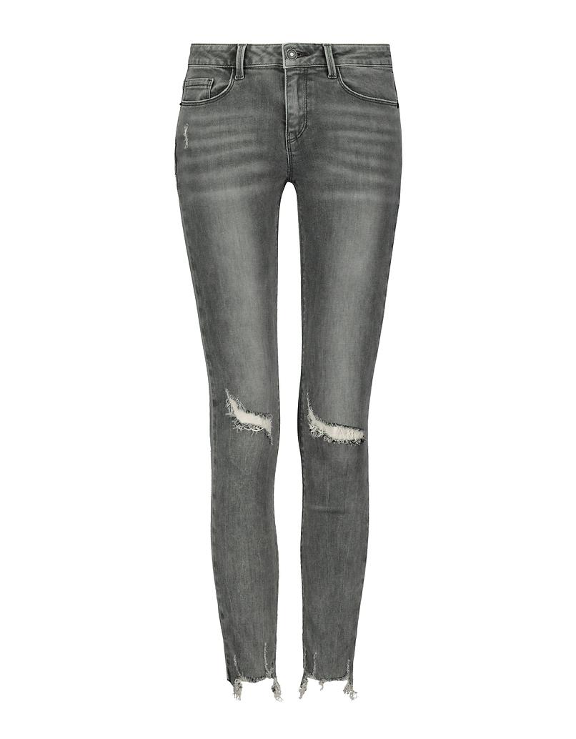 Jeans Skinny Destroy a Vita Bassa