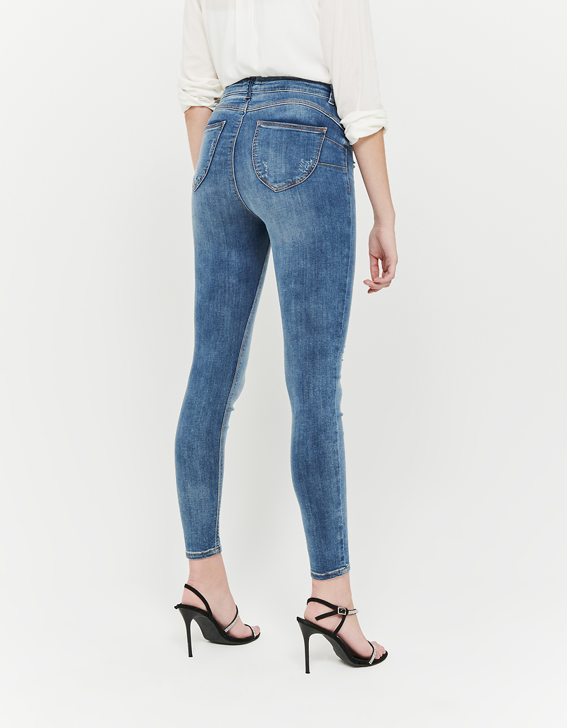 Jean Skinny Taille Haute Push Up