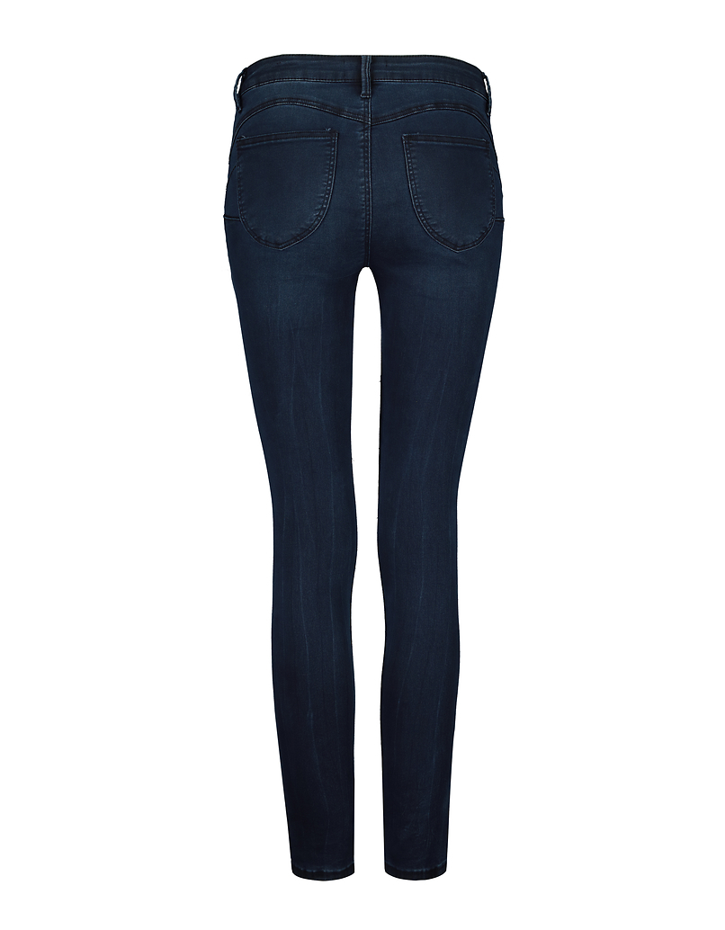 Medium Waist Push Up Skinny Jeans