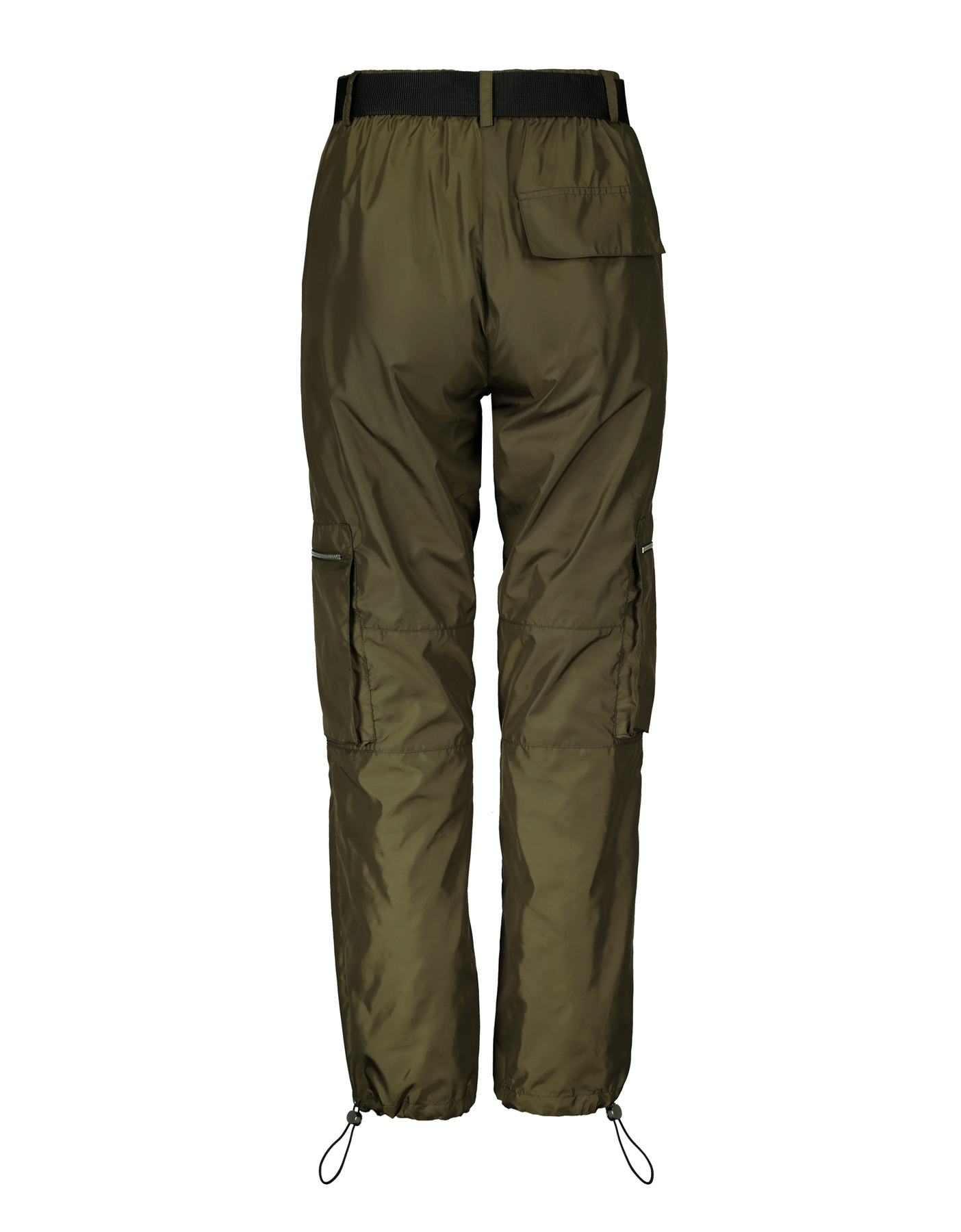 Drawstring Ankle Cargo Trousers